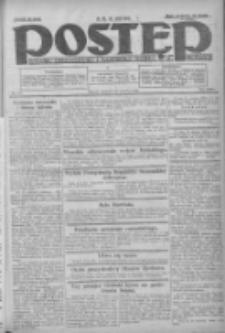 Postęp: dziennik chrześcijański i narodowy: wychodzi w Poznaniu 1924.06.15 R.35 Nr137