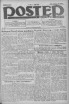 Postęp: dziennik chrześcijański i narodowy: wychodzi w Poznaniu 1924.06.21 R.35 Nr141