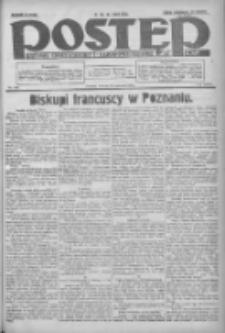 Postęp: dziennik chrześcijański i narodowy: wychodzi w Poznaniu 1924.06.24 R.35 Nr143