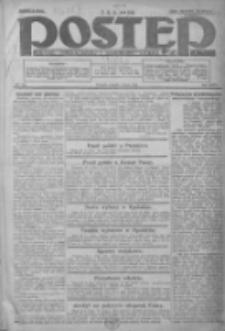 Postęp: dziennik chrześcijański i narodowy: wychodzi w Poznaniu 1924.07.01 R.35 Nr149