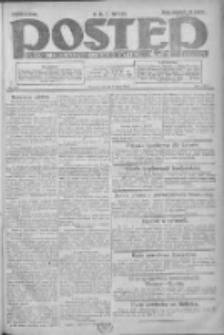 Postęp: dziennik chrześcijański i narodowy: wychodzi w Poznaniu 1924.07.08 R.35 Nr155
