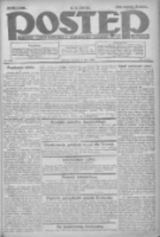 Postęp: dziennik chrześcijański i narodowy: wychodzi w Poznaniu 1924.07.17 R.35 Nr163