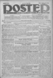 Postęp: dziennik chrześcijański i narodowy: wychodzi w Poznaniu 1924.07.21 R.35 Nr167