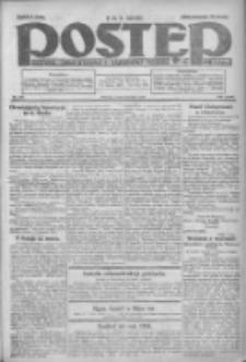 Postęp: dziennik chrześcijański i narodowy: wychodzi w Poznaniu 1924.07.23 R.35 Nr168