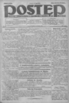 Postęp: dziennik chrześcijański i narodowy: wychodzi w Poznaniu 1924.08.03 R.35 Nr178