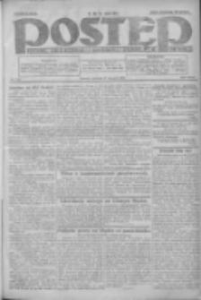 Postęp: dziennik chrześcijański i narodowy: wychodzi w Poznaniu 1924.08.17 R.35 Nr189