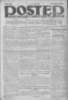 Postęp: dziennik chrześcijański i narodowy: wychodzi w Poznaniu 1924.08.28 R.35 Nr198