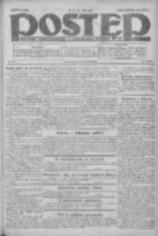 Postęp: dziennik chrześcijański i narodowy: wychodzi w Poznaniu 1924.09.12 R.35 Nr211