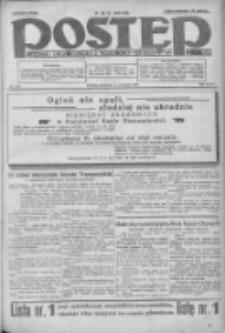 Postęp: dziennik chrześcijański i narodowy: wychodzi w Poznaniu 1924.09.14 R.35 Nr213