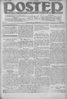 Postęp: dziennik chrześcijański i narodowy: wychodzi w Poznaniu 1924.09.16 R.35 Nr214
