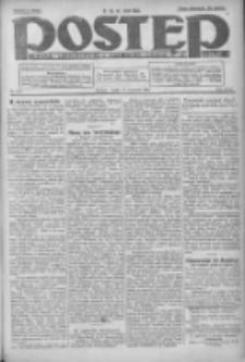 Postęp: dziennik chrześcijański i narodowy: wychodzi w Poznaniu 1924.09.17 R.35 Nr215