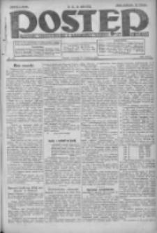 Postęp: dziennik chrześcijański i narodowy: wychodzi w Poznaniu 1924.09.18 R.35 Nr216