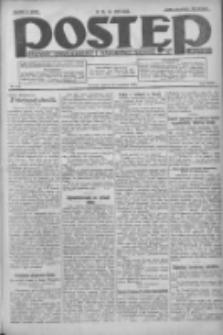 Postęp: dziennik chrześcijański i narodowy: wychodzi w Poznaniu 1924.09.20 R.35 Nr218
