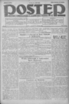 Postęp: dziennik chrześcijański i narodowy: wychodzi w Poznaniu 1924.09.25 R.35 Nr222