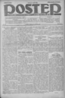Postęp: dziennik chrześcijański i narodowy: wychodzi w Poznaniu 1924.09.27 R.35 Nr224