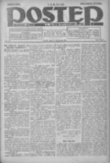 Postęp: dziennik chrześcijański i narodowy: wychodzi w Poznaniu 1924.10.03 R.35 Nr229