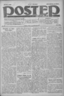 Postęp: dziennik chrześcijański i narodowy: wychodzi w Poznaniu 1924.10.05 R.35 Nr231