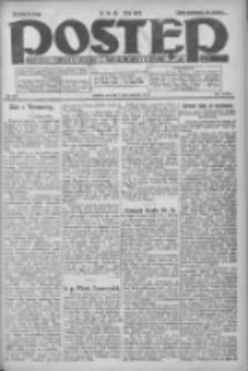 Postęp: dziennik chrześcijański i narodowy: wychodzi w Poznaniu 1924.10.07 R.35 Nr232