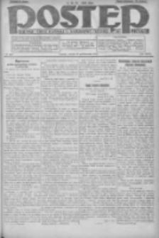 Postęp: dziennik chrześcijański i narodowy: wychodzi w Poznaniu 1924.10.18 R.35 Nr242