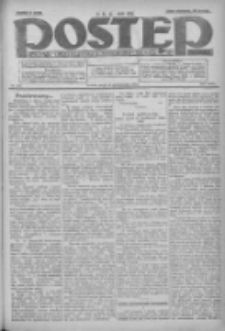 Postęp: dziennik chrześcijański i narodowy: wychodzi w Poznaniu 1924.10.29 R.35 Nr251