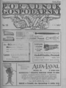 Poradnik Gospodarski. Pismo Tygodniowe. 1937.05.02 R.48 nr18