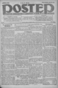 Postęp: dziennik chrześcijański i narodowy: wychodzi w Poznaniu 1924.04.09 R.35 Nr84
