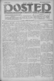 Postęp: dziennik chrześcijański i narodowy: wychodzi w Poznaniu 1924.11.06 R.35 Nr257