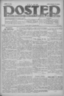 Postęp: dziennik chrześcijański i narodowy: wychodzi w Poznaniu 1924.11.07 R.35 Nr258