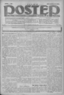 Postęp: dziennik chrześcijański i narodowy: wychodzi w Poznaniu 1924.11.09 R.35 Nr260