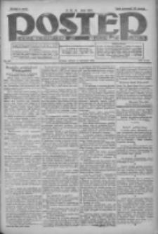 Postęp: dziennik chrześcijański i narodowy: wychodzi w Poznaniu 1924.11.11 R.35 Nr261
