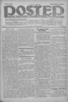 Postęp: dziennik chrześcijański i narodowy: wychodzi w Poznaniu 1924.11.13 R.35 Nr263
