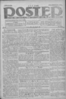 Postęp: dziennik chrześcijański i narodowy: wychodzi w Poznaniu 1924.11.21 R.35 Nr270