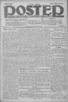 Postęp: dziennik chrześcijański i narodowy: wychodzi w Poznaniu 1924.11.27 R.35 Nr275