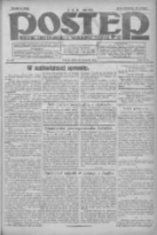 Postęp: dziennik chrześcijański i narodowy: wychodzi w Poznaniu 1924.11.28 R.35 Nr276