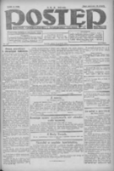 Postęp: dziennik chrześcijański i narodowy: wychodzi w Poznaniu 1924.12.12 R.35 Nr287
