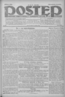 Postęp: dziennik chrześcijański i narodowy: wychodzi w Poznaniu 1924.12.17 R.35 Nr291