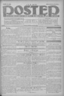 Postęp: dziennik chrześcijański i narodowy: wychodzi w Poznaniu 1924.12.21 R.35 Nr295