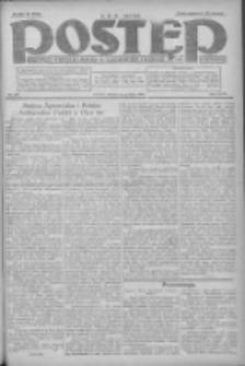 Postęp: dziennik chrześcijański i narodowy: wychodzi w Poznaniu 1924.12.23 R.35 Nr296