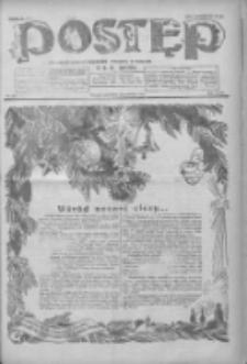 Postęp: dziennik chrześcijański i narodowy: wychodzi w Poznaniu 1924.12.25 R.35 Nr298