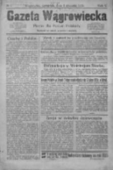 Gazeta Wągrowiecka: pismo dla rodzin polskich 1925.01.01 R.5 Nr1