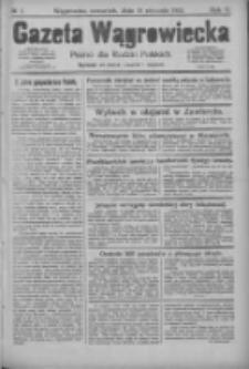 Gazeta Wągrowiecka: pismo dla rodzin polskich 1925.01.15 R.5 Nr7