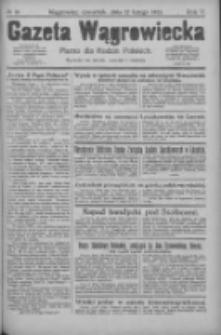 Gazeta Wągrowiecka: pismo dla rodzin polskich 1925.02.12 R.5 Nr19