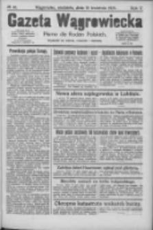 Gazeta Wągrowiecka: pismo dla rodzin polskich 1925.04.19 R.5 Nr46