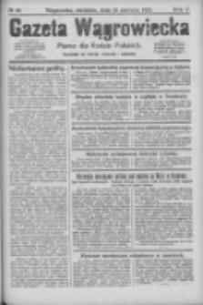 Gazeta Wągrowiecka: pismo dla rodzin polskich 1925.06.14 R.5 Nr69