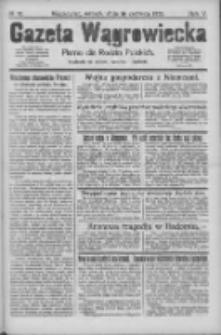 Gazeta Wągrowiecka: pismo dla rodzin polskich 1925.06.16 R.5 Nr70