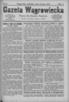 Gazeta Wągrowiecka: pismo dla rodzin polskich 1925.07.26 R.5 Nr87