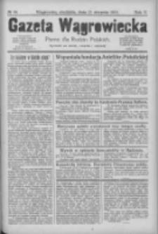Gazeta Wągrowiecka: pismo dla rodzin polskich 1925.08.23 R.5 Nr99