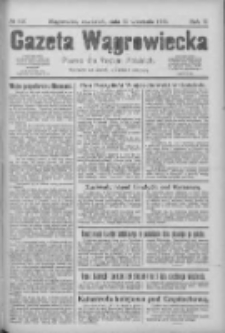 Gazeta Wągrowiecka: pismo dla rodzin polskich 1925.09.17 R.5 Nr110