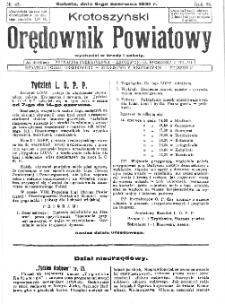 Krotoszyński Orędownik Powiatowy 1931.06.06 R.56 Nr45