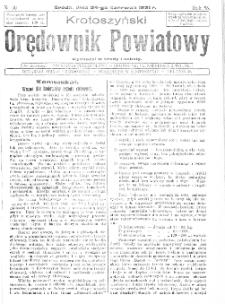 Krotoszyński Orędownik Powiatowy 1931.06.24 R.56 Nr50